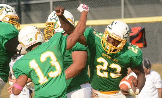 University Of Kentucky Athletics October An Exciting: Kentucky State Rallies For 28-24 Win Over Miles College