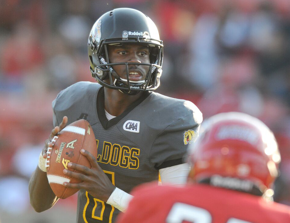 Bowie State's Amir Hall named 2018 BCFHOF Player of the Year