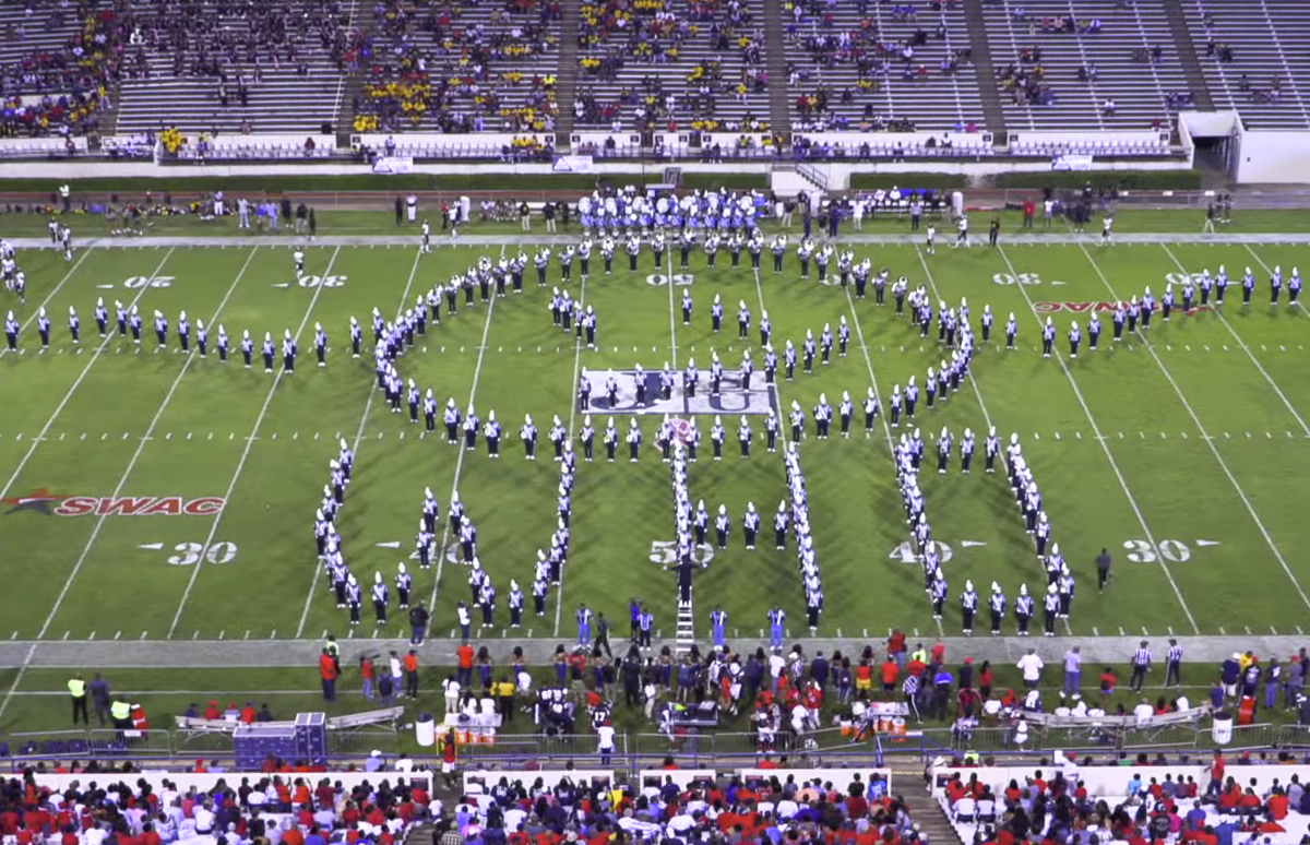 Here are the top 5 HBCU band halftime shows from Week 6