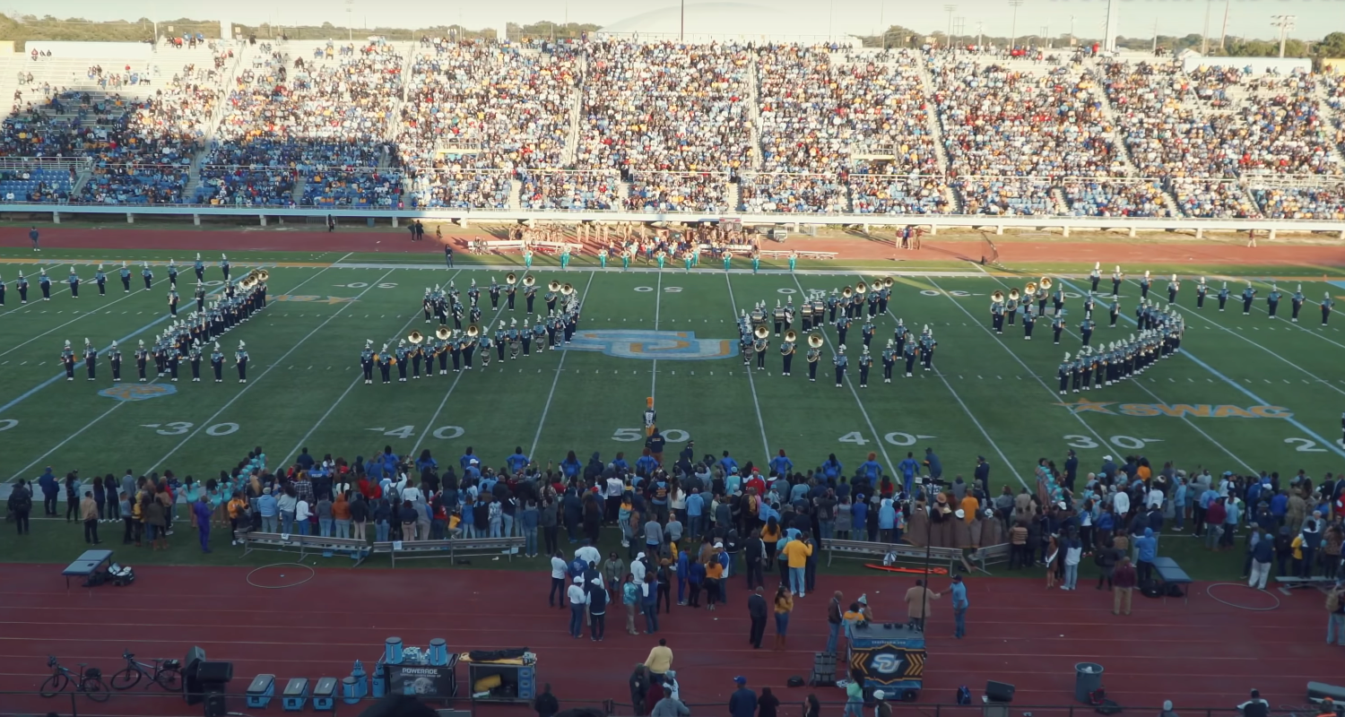 Here are the top 5 HBCU band halftime shows from Week 10