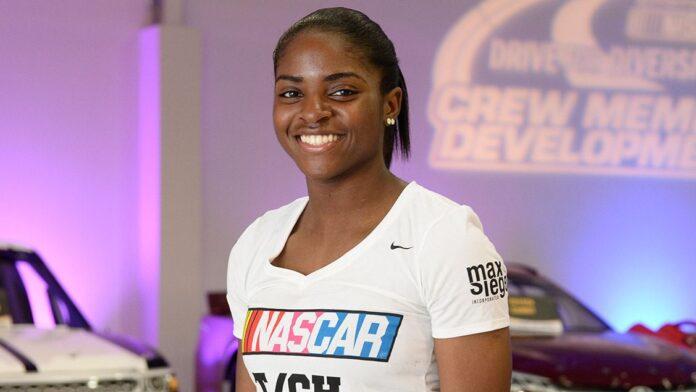 Brehanna Daniels, NASCAR