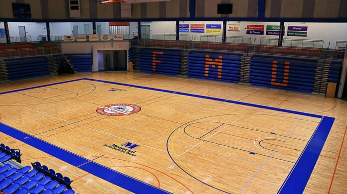 Florida Memorial basketball court